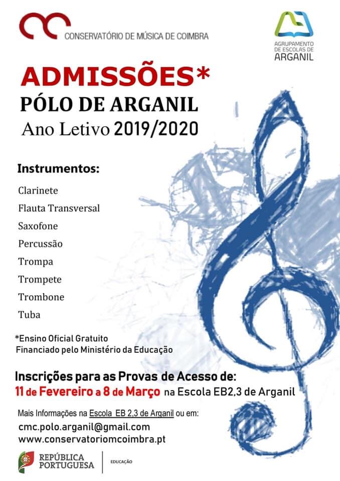 e0d3d9baf5 Conservatório de Música de Coimbra - Pólo de Arganil - Freguesia de ...